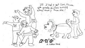 If I Had A Pet Lion
