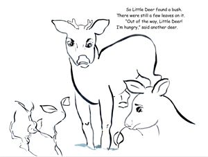 Little deer page